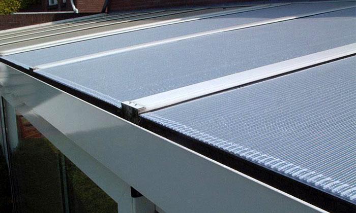 Buitenaanzicht aluminium buitenzonwering